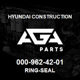 000-962-42-01 Hyundai Construction RING-SEAL | AGA Parts