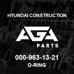 000-963-13-21 Hyundai Construction O-RING | AGA Parts