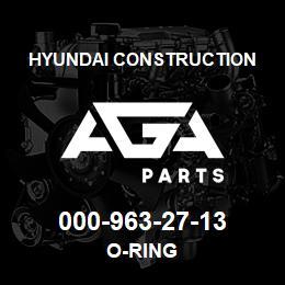 000-963-27-13 Hyundai Construction O-RING | AGA Parts