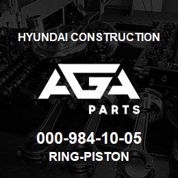 000-984-10-05 Hyundai Construction RING-PISTON | AGA Parts