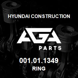 001.01.1349 Hyundai Construction RING | AGA Parts
