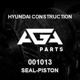 001013 Hyundai Construction SEAL-PISTON | AGA Parts