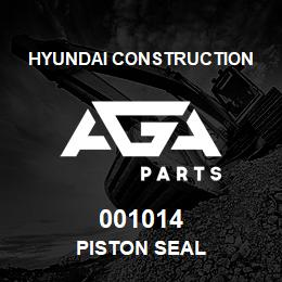 001014 Hyundai Construction PISTON SEAL | AGA Parts