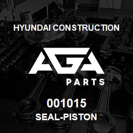 001015 Hyundai Construction SEAL-PISTON | AGA Parts