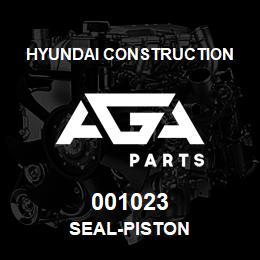 001023 Hyundai Construction SEAL-PISTON | AGA Parts