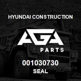 001030730 Hyundai Construction SEAL   AGA Parts