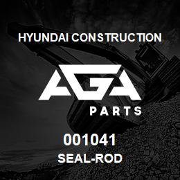 001041 Hyundai Construction SEAL-ROD | AGA Parts