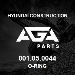 001.05.0044 Hyundai Construction O-RING | AGA Parts