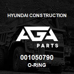 001050790 Hyundai Construction O-RING | AGA Parts