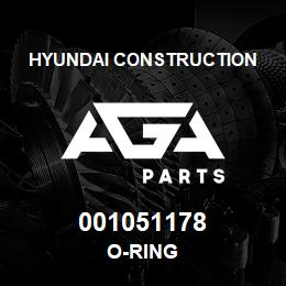001051178 Hyundai Construction O-RING | AGA Parts
