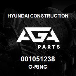 001051238 Hyundai Construction O-RING   AGA Parts