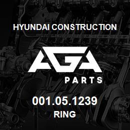 001.05.1239 Hyundai Construction RING | AGA Parts