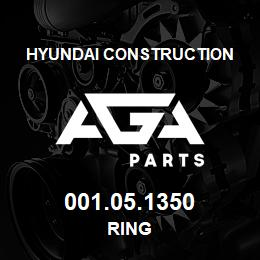 001.05.1350 Hyundai Construction RING | AGA Parts
