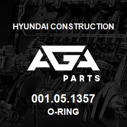 001.05.1357 Hyundai Construction O-RING | AGA Parts