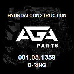 001.05.1358 Hyundai Construction O-RING | AGA Parts