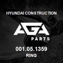 001.05.1359 Hyundai Construction RING | AGA Parts
