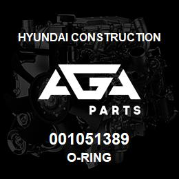 001051389 Hyundai Construction O-RING | AGA Parts