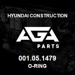 001.05.1479 Hyundai Construction O-RING | AGA Parts
