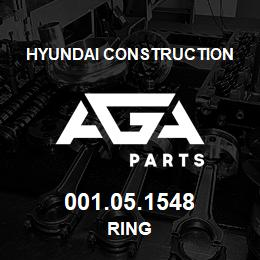 001.05.1548 Hyundai Construction RING | AGA Parts