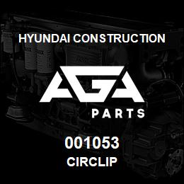 001053 Hyundai Construction CIRCLIP | AGA Parts