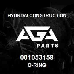 001053158 Hyundai Construction O-RING | AGA Parts