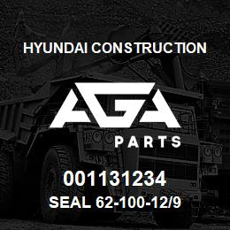 001131234 Hyundai Construction SEAL 62-100-12/9 | AGA Parts