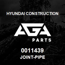 0011439 Hyundai Construction JOINT-PIPE | AGA Parts