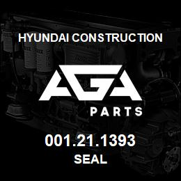001.21.1393 Hyundai Construction SEAL | AGA Parts