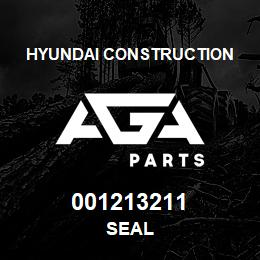 001213211 Hyundai Construction SEAL | AGA Parts