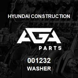 001232 Hyundai Construction WASHER | AGA Parts