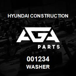001234 Hyundai Construction WASHER | AGA Parts