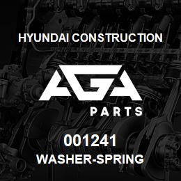 001241 Hyundai Construction WASHER-SPRING | AGA Parts