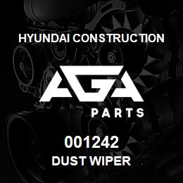 001242 Hyundai Construction DUST WIPER | AGA Parts