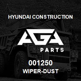 001250 Hyundai Construction WIPER-DUST | AGA Parts