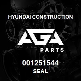 001251544 Hyundai Construction SEAL | AGA Parts