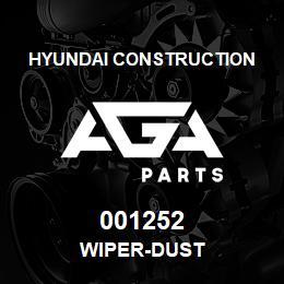 001252 Hyundai Construction WIPER-DUST | AGA Parts
