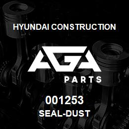 001253 Hyundai Construction SEAL-DUST | AGA Parts