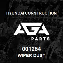 001254 Hyundai Construction WIPER DUST | AGA Parts
