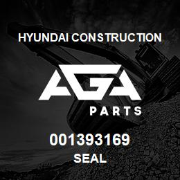 001393169 Hyundai Construction SEAL | AGA Parts