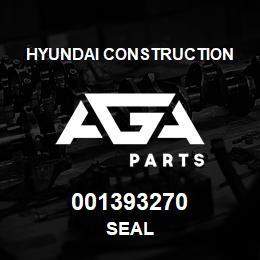 001393270 Hyundai Construction SEAL | AGA Parts