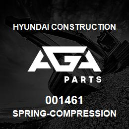 001461 Hyundai Construction SPRING-COMPRESSION | AGA Parts