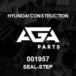 001957 Hyundai Construction SEAL-STEP | AGA Parts