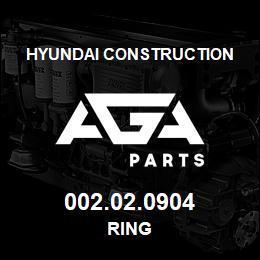 002.02.0904 Hyundai Construction RING | AGA Parts