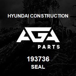 193736 Hyundai Construction SEAL | AGA Parts