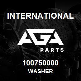 100750000 International WASHER   AGA Parts