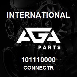 101110000 International CONNECTR | AGA Parts