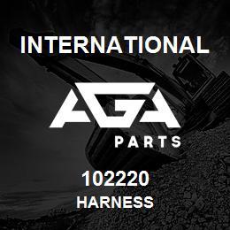 102220 International HARNESS   AGA Parts