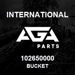 102650000 International BUCKET | AGA Parts