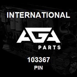 103367 International PIN | AGA Parts