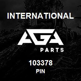 103378 International PIN | AGA Parts